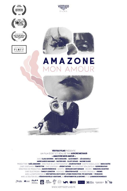 Amazone mon amour-poster